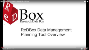 ReDBox 2.0 RDMP Overview